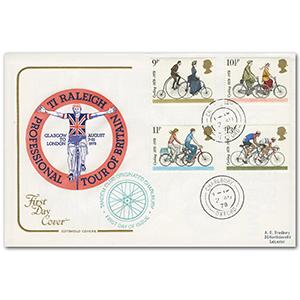 1978 Cycling Cotswold Charlbury cds, Tandem Club cachet