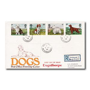 1979 Dogs - Dogsthorpe, Peterborough counter date stamp