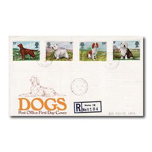 1979 Dogs - Dog Kennel Lane counter date stamp