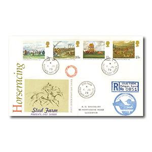 1979 Horseracing - Stud Farm counter date stamp
