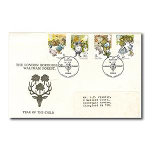 1979 Year of the Child - Waltham Forest Official - Yardley Primary Handstamp
