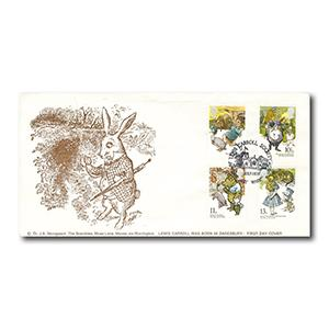 1979 Year of the Child - Lewis Carroll Society - Daresbury handstamp