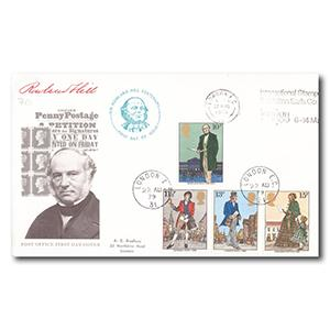 1979 Rowland Hill - International Stamp Exhibition Slogan