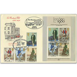 1979 Rowland Hill - Doubled - Set and M/S