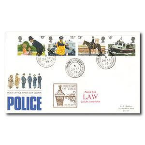 1979 Metropolitan Police - Law counter date stamp