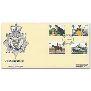 1979 Metropolitan Police Norfolk Constabulary Norwich F.D.I.