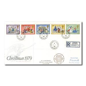 1979 Christmas - Nasareth counter date stamp