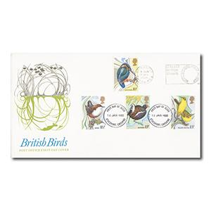 1980 Birds - Collect British Stamps Slogan