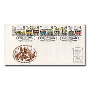 1980 Railways - Newton-le-Willows 150 Years - Earlstown Handstamp