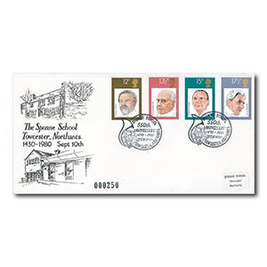 1980 Conductors - Sponne School handstamp