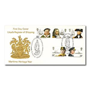 1982 Maritime - Petty Official - Lloyds Register of Shipping Handstamp