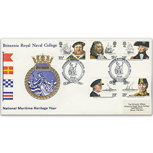 1982 Maritime Britannia Royal Naval College Official