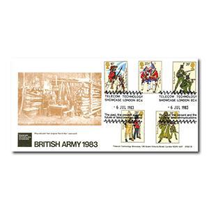 1983 Army - British Telecom - Telecom Technology Showcase Handstamp
