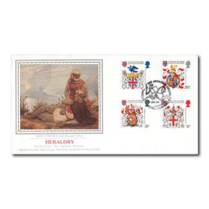 1984 Heraldry - Sotheby's Presentation Philatelic Services - No.1 Issue - Tintagel Handstamp