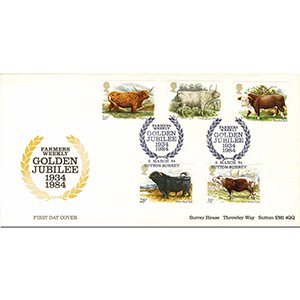 1984 Cattle D/E Official-Farmers Weekly Golden Jubilee H/S