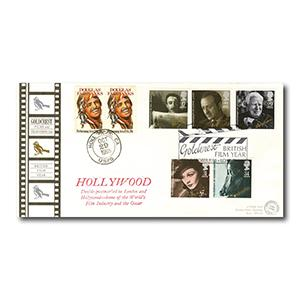 1985 British Film Year - Hollywood & London Postmarks