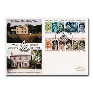 1986 Queen's Birthday - Women's Institute - Denman College Handstamp