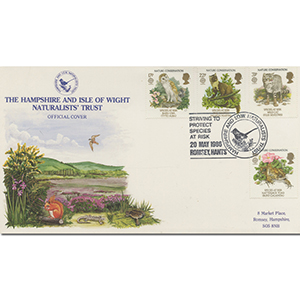 1986 Nature Conservation - Hampshire & Isle Of Wight Naturalists Official