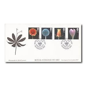 1987 Flowers - Royal College Of Art SW7 Handstamp