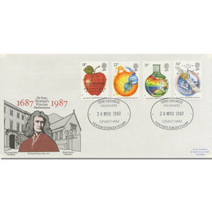 1987 Isaac Newton - The George, Grantham Official
