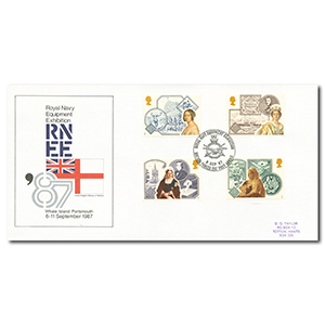 1987 Victorian Britain - British Forces Post Office 2187 Handstamp
