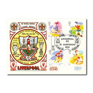 1988 Sports - Liverpool FC Handstamp