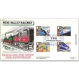 1988 Transport, Nene Valley Railway official, Peterborough
