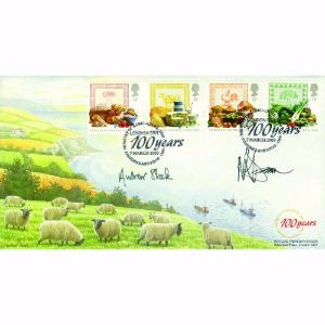 1989 Food & Farming - Ministry of Agriculture Fisheries and Food handstamp - signed Stock & Dearn