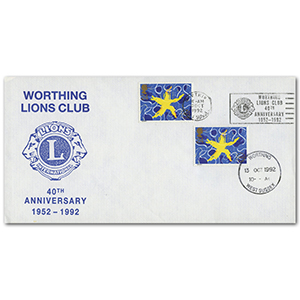 1992 Single Market Worthing Lions Club slogan