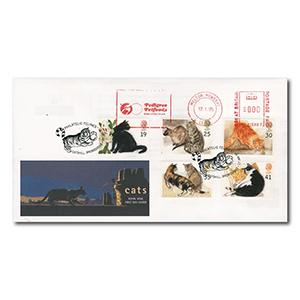1995 Cats - Catshill Handstamp