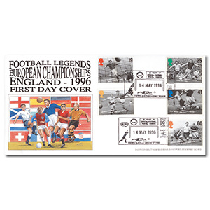 1966 Football Legends - Newcastle handstamp