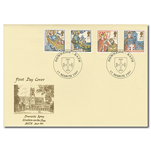 1997 Faith - Downside Abbey - Bath Handstamp