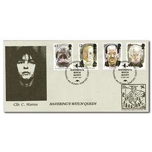 1997 Tales of Terror - Havering Witch Queen Handstamp