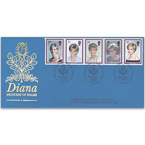1998 Diana, Covercraft Official. Kensington Gardens H/S.