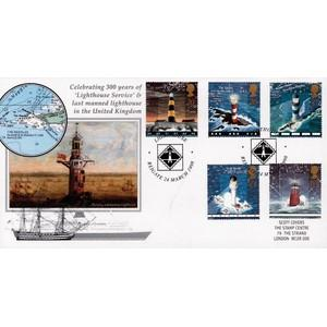 1998 Lighthouses - Scott Official Cover - Lighthouse Handstamp