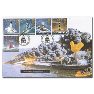 1998 Lighthouses - Peter Payne Official Cover - Beacon Close Handstamp