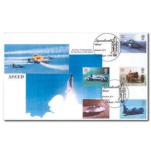 1998 Speed - Speedwell Street handstamp