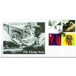 1999 Inventor's Tale - The Flying Scot - Edinburgh handstamp
