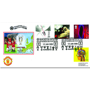 1999 Inventor's Tale - Dawn Official - Manchester United Museum handstamp