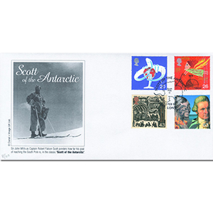 1999 Travellers - Scott Of The Antarctic Handstamp