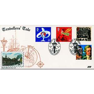 1999 Travellers - Alan Wright Official - Great Malvern handstamp