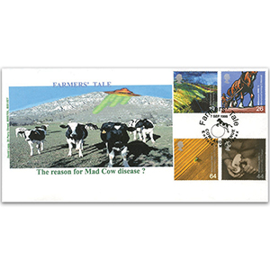 1999 Farmers' Tale - David Legg official - Cowland Avenue handstamp