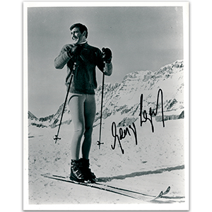 George Lazenby - Autograph - Signed Black and White Photograph
