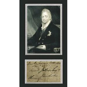 King William IV - Signature