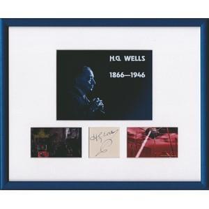 HG Wells signature
