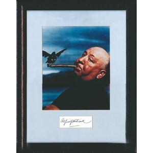 Alfred Hitchcock Signature (Framed)