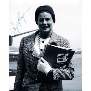 Ingrid Bergman - Signature - Signed Black and White Photograph