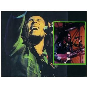 Bob Marley - Autograph - Signed Colour Photograph