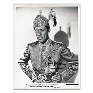Rex Harrison - Autograph - Signed Black and White Photograph