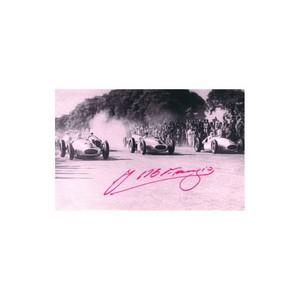 Juan Manuel Fangio  Autograph - Signed Photograph, GENUINE HAND SIGNED